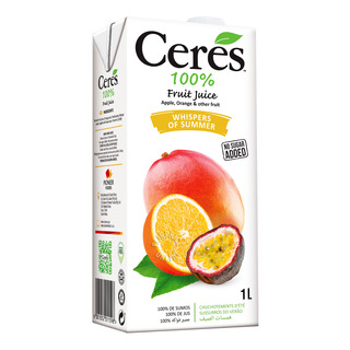 Ceres 100% Juice Blend Packet Drink - Whispers of Summer