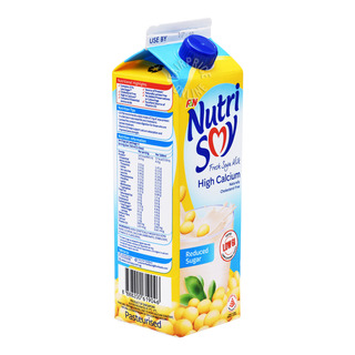 F&N NutriSoy High Calcium Fresh Soya Milk - Reduced Sugar