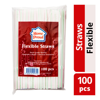 HomeProud Flexible Straws
