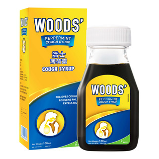 Woods' Peppermint Cough Syrup