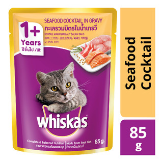Whiskas Pouch Cat Food - Seafood Cocktail