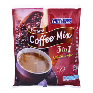 FairPrice 3 in 1 Instant Coffee Mix - Reduced Sugar