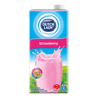 Dutch Lady UHT Milk - Strawberry