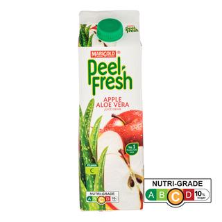 Marigold Peel Fresh Juice - Apple & Aloe Vera