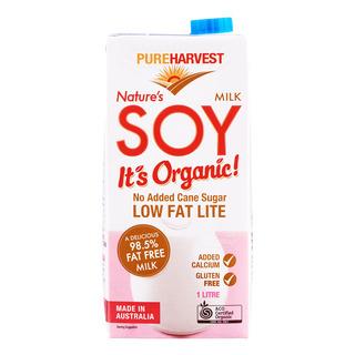 Pureharvest Organic Nature's Soy Milk - Lite Low Fat