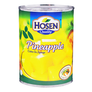 Hosen Fruits in Syrup - Pineapple (Cubes)