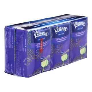 Kleenex Ultra Soft Pocket Tissues - Gentle Clean (3ply)