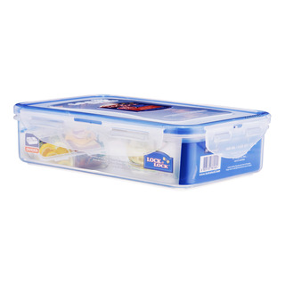 Lock & Lock Stackable Airtight Container & Divider - Rectangle