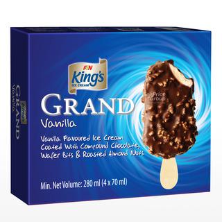 King's Bites Ice Cream - Vanilla