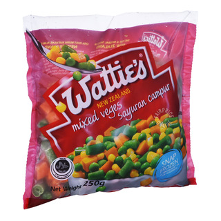 Watties Frozen Mixed Veges