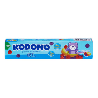 Kodomo Children ToothGel - Bubblefruit