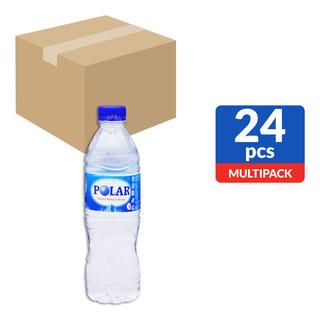 Polar Natural Mineral Bottle Water 24 x 600ml (CTN