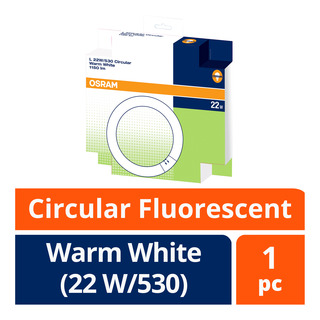 Osram Circular Fluorescent Lamp - Warm White (22 W/530) 1 per pack