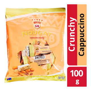 Golden Boronia Nougat - Cappuccino (Crunchy)