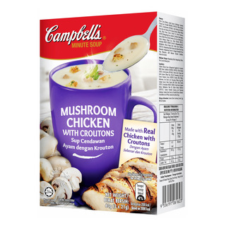 Campbell's Instant Soup - Mushroom Chicken with Croutons