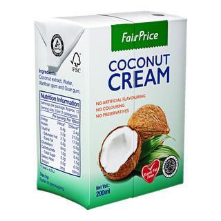 FairPrice Natural Coconut Cream