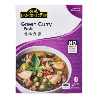 Dancing Chef Paste - Green Curry