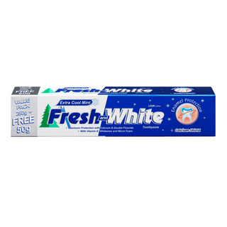 Fresh & White Toothpaste - Extra Cool Mint