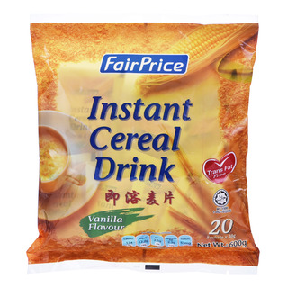 FairPrice 3 in 1 Instant Cereal Drink - Vanilla