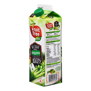 F&N Fruit Tree Fresh No Sugar Added Juice - Daily Greens