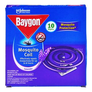 Baygon Mosquito Coil - Lavender
