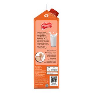 F&N Magnolia Plus Lo-Fat Hi-Cal Milk - Oats
