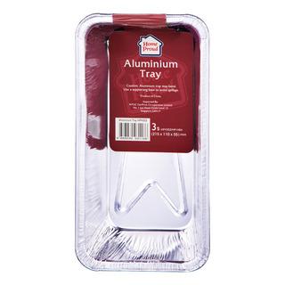 HomeProud Aluminium Tray - Rectangle (21.5 x 11 x 5.5cm)