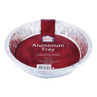 HomeProud Aluminium Tray - Circle
