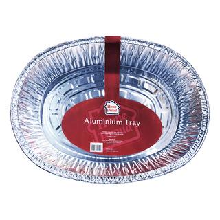 HomeProud Aluminium Tray - Round