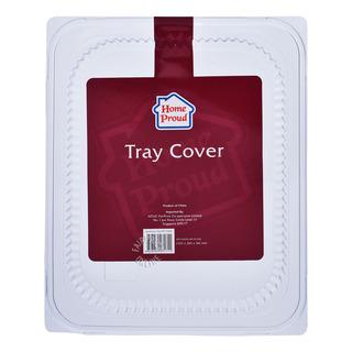 HomeProud Aluminium Tray Cover (32.5 x 26.5 x 3.6cm)