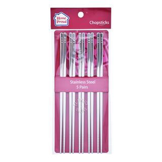 HomeProud Stainless Steel Chopsticks