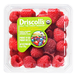Driscoll's USA Organic Raspberries