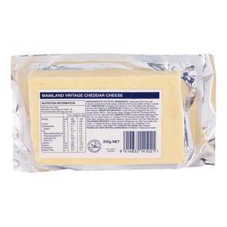 Mainland Block Cheese - Vintage (Sharp & Crumbly)