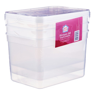 HomeProud Microwave-Safe Food Container - Rectangle