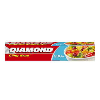 diamond cling wrap 60m 1 per pack fairprice singapore