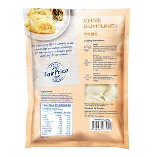 FairPrice Frozen Dumplings - Chive