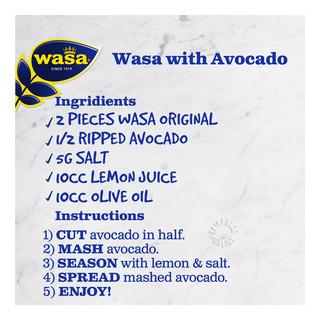 Wasa Crispy Rye Bread - Original
