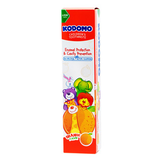 Kodomo Children Toothpaste - Orange