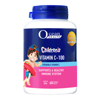 Ocean Health Children Chewables - Vitamin C-100