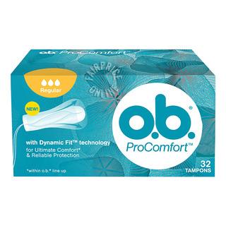 O.B ProComfort Tampons - Regular