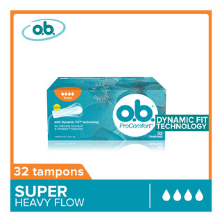 O.B ProComfort Tampons - Super