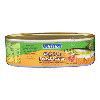 FairPrice Can Fried Dace - Preserved Vegetables