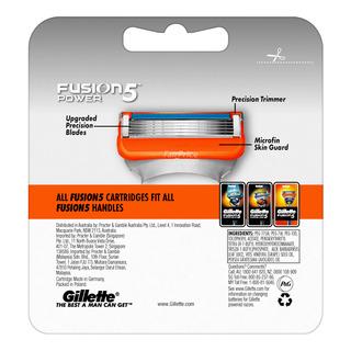 Gillette Razor Cartridge Refill - Fusion Power