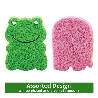 NUK Bathtime Animal Sponge - Assorted