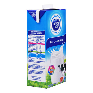 Dutch Lady UHT Milk - Full Cream (Plain)