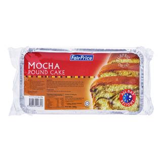 FairPrice Frozen Pound Cake - Mocha