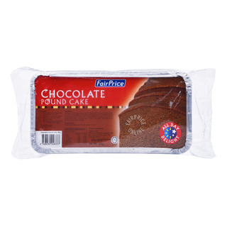 FairPrice Frozen Pound Cake - Chocolate