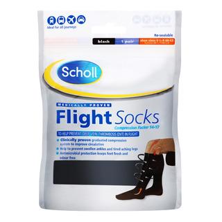 Scholl Flight Socks - Size 6.5 - 9