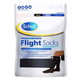 Scholl Flight Socks - Size 3 - 6