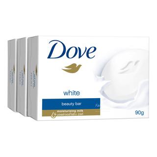 Dove Bar Soap - White Beauty 3 x 100g| FairPrice Singapore